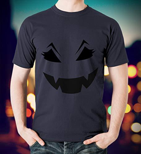 Face Pumpkin Halloween Funny T-Shirt
