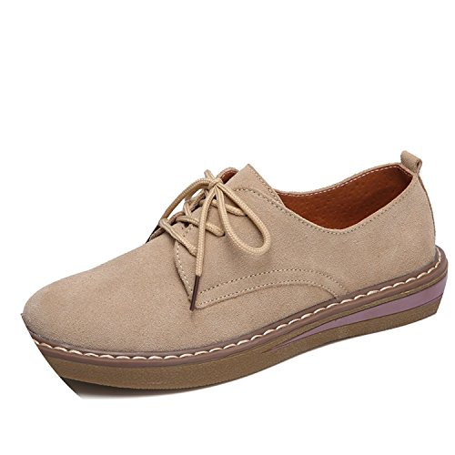Leather Suede Khakis - 9