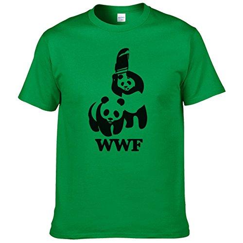 Amazon.com: WWF Wrestling Panda Comedy Short Sleeve Cool Camiseta T Shirt Men T Shirt Summer Fashion Funny: Sports & Outdoors