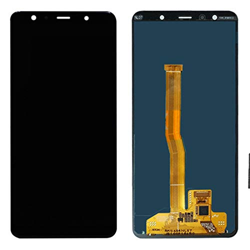 TheCoolCube Replacement for LCD Display Touch Screen Digitizer New Assembly Compatible with Samsung Galaxy A7 (2018) A750 A750FN 6.0