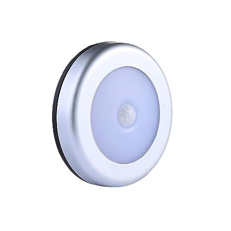 3Pcs LED luz de noche sensor de movimiento luces de noche ...
