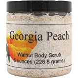 Georgia Peach Walnut Body Scrub, 16 oz