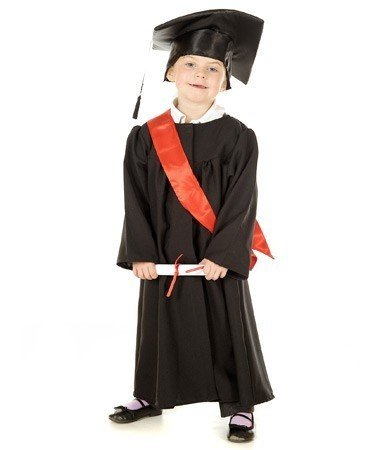Buy Fancy Steps Convocation Graduation Gown Dress, 10 to 12 Years ...