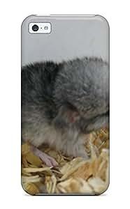 Awesome JoNscBj5072WXYbk AndrewTeresaCorbitt Defender Tpu Hard Case Cover For Iphone 5c- Baby Chinchilla