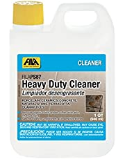 FILA Heavy Duty Cleaner PS87 1 QT, Stain Remover Grease, Coffee, Wine, Wax, Ink, Hard Surface Floor Cleaner, ideal for Natural Stone, Terracotta, Quarry Tile, Concrete, Porcelain And Ceramic Tile