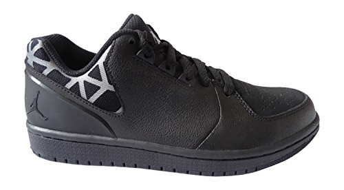 Nike Jordan 1 Flight 3 Low, Zapatillas de Deporte Exterior para Hombre Negro / Gris  (Black/Cool Grey-Black)