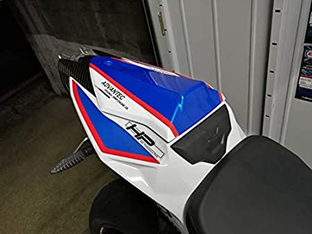 with cowl lock kit Rear Seat Cover Tail Section Motorbike Fairing Cowl for BMW HP4 S1000RR S1000 2015 2016 2017 2018