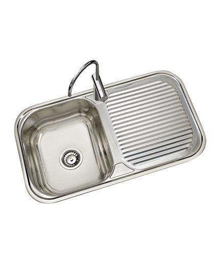 Timblau Fregadero de Cocina con Senos, Acero Inoxidable ...