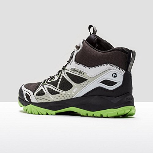 MERRELL Capra Bolt GTX mittelhohe Hiking-Schuhe Herren, Schwarz, 44.5