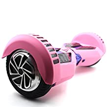 """Self Balance Wheel Hoverboard Scooter Skin Case Cover Color Skin Choose For 8"""" 8 inch Best Quality Protect Your Scooter (Pink)"""