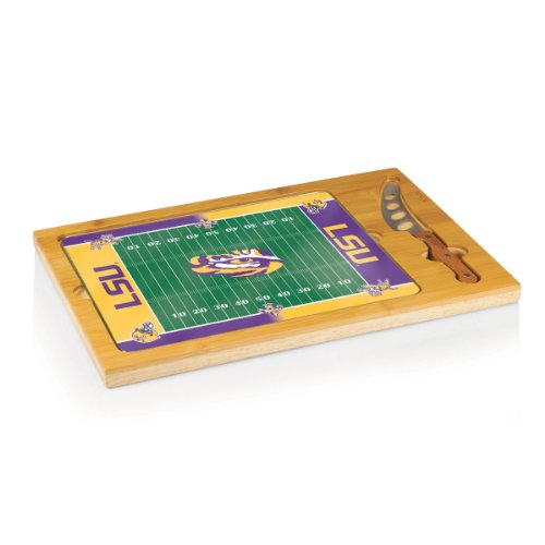NCAA Louisiana State Tigers Icon Cheese Set (3-Piece)