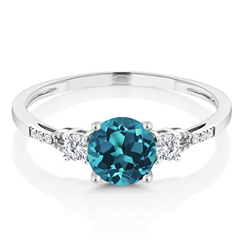 The 8 best engagement ring sets blue topaz
