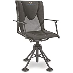 Bolderton 360 Comfort Swivel Hunting Blind Chair with Armrests