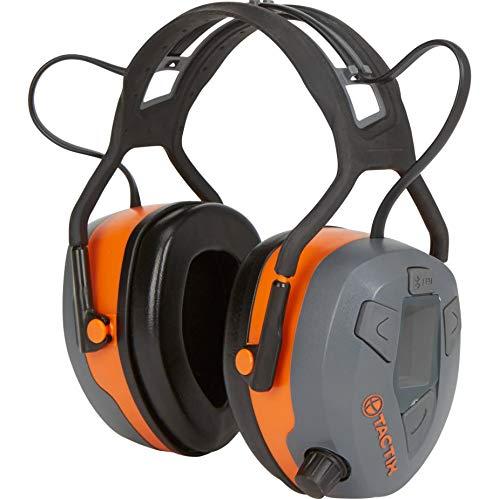 Tactix Bluetooth Safety Earmuffs with FM Radio — 23dB NRR
