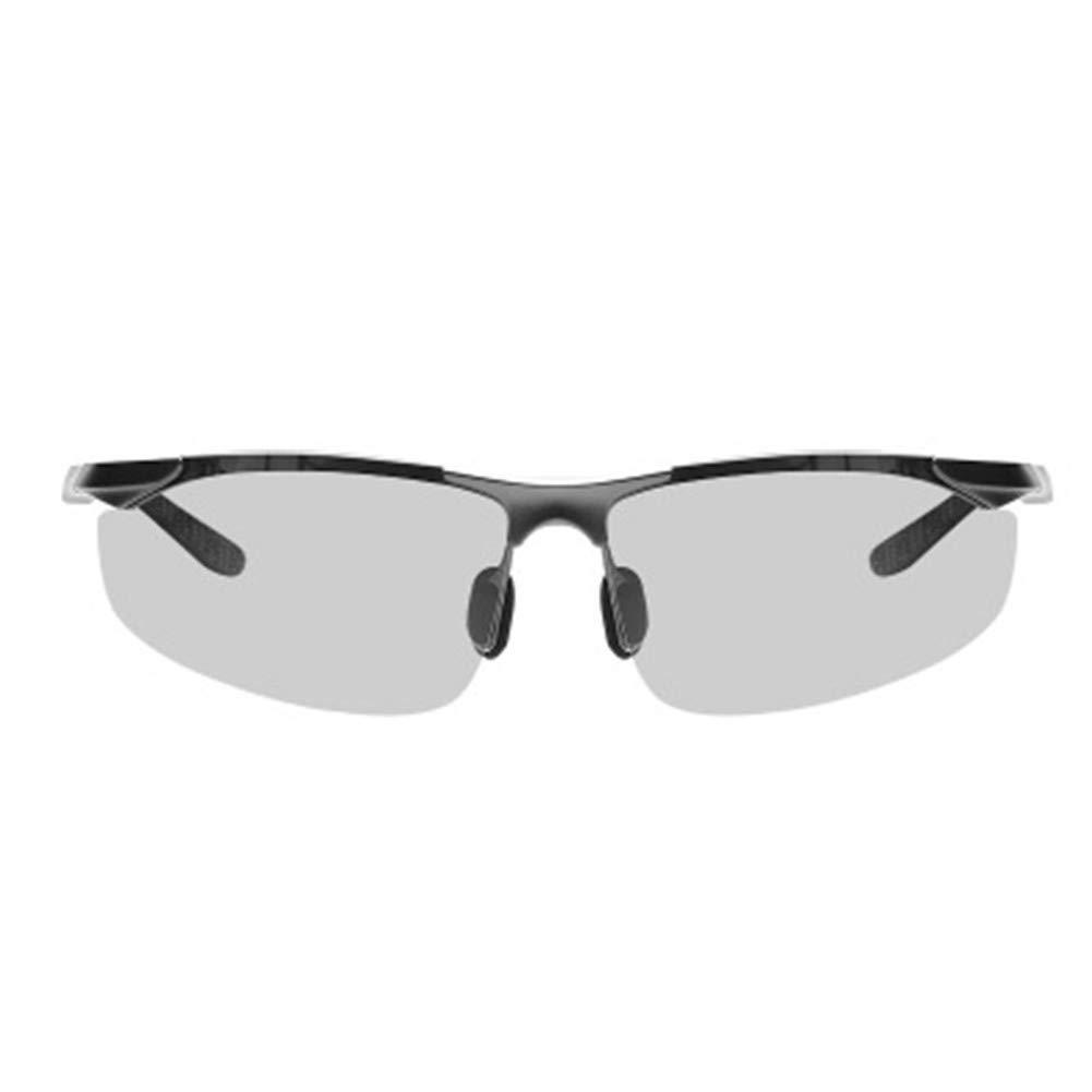APJJ Gafas De Sol Polarizadas Que Cambian De Color Que Montan Los Vidrios Fotosensibles Elegantes De Los Deportes De La Ultra-Luz