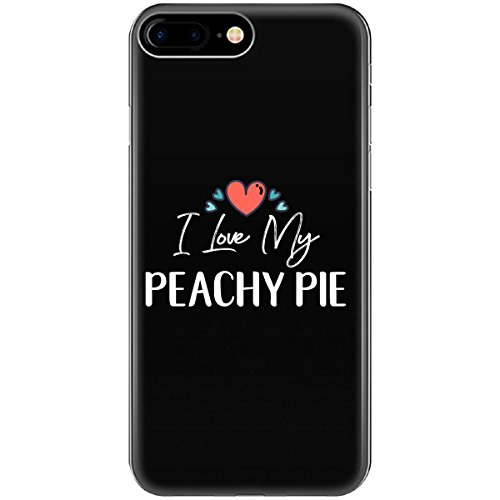 I Love My Peachy Pie Mothers Day Gift Kid Child Nickname - Phone Case Fits Iphone 6 6s 7 (Peachy Pie)
