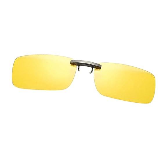 Sharplace Gafas de sol Polarizadas con Clip Protección Solar UV400 para Deporte al Aire Libre Pesca