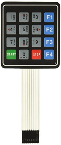 4x4 16 Key Matrix Membrane Switch Keypad Keyboard 76x69x0.8mm