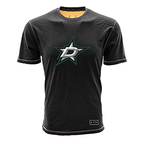 - Levelwear LEY9R NHL Dallas Stars Adult Men Harbor Harbour Jock Tag Tee, Large, Black