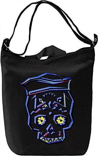Sailor Skull Borsa Giornaliera Canvas Canvas Day Bag| 100% Premium Cotton Canvas| DTG Printing|