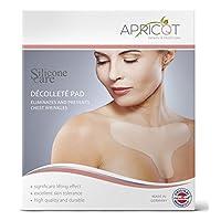Apricot Beauty & Healthcare Silicon Care Décolleté Pad para eliminar y prevenir arrugas en el pecho