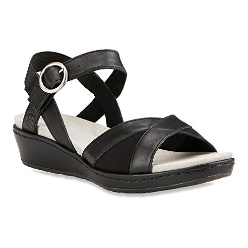 Ariat Womens Out And About Quarter Strap Sandal Black TZHdH6