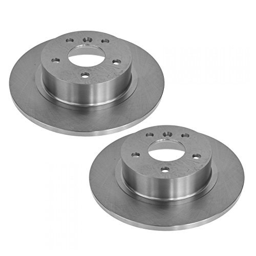Rear Disc Brake Rotors Pair Set of 2 for Land Rover Discovery ()
