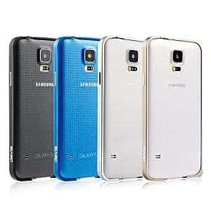 CECT STOCK Hebilla de parachoques para el Samsung Galaxy S5 , Color Plata