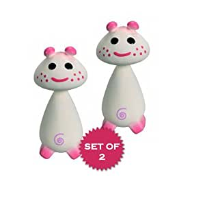 Vulli Chan Pie Gnon Pink Teether - Set of 2