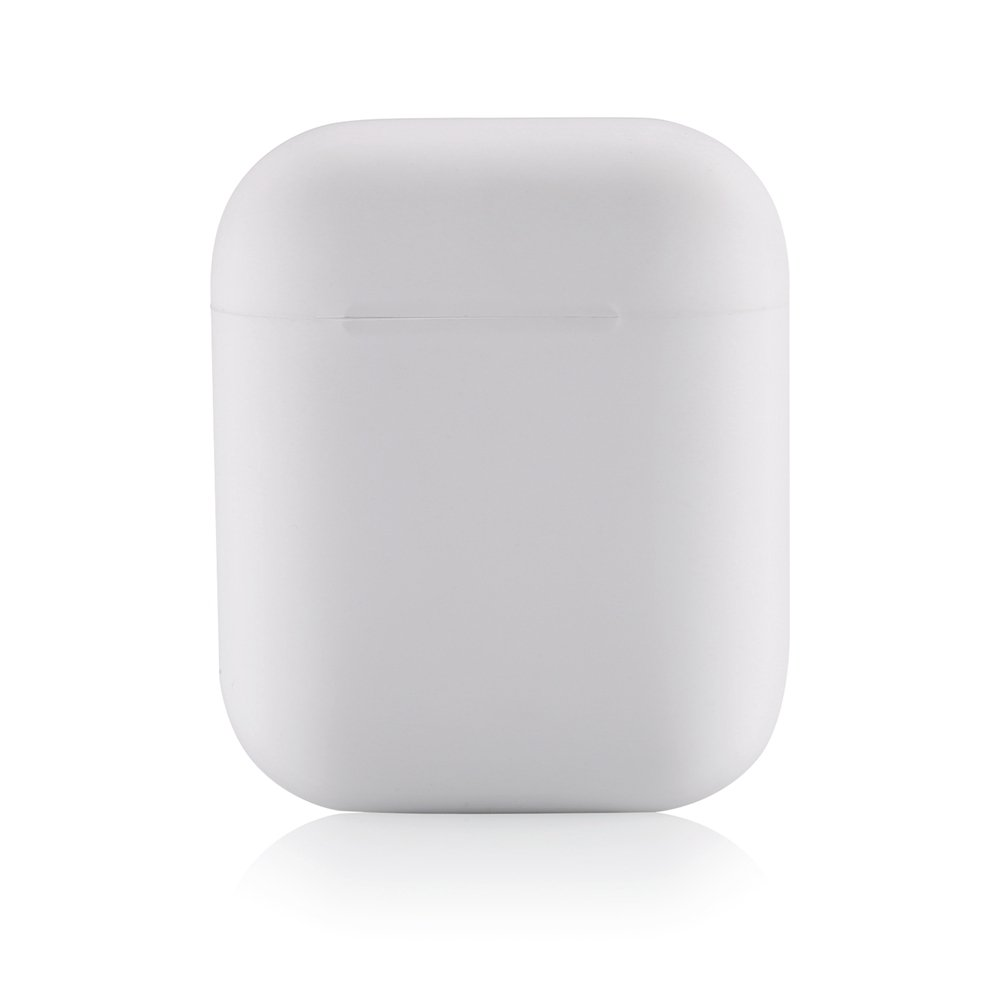 White Front LED Not Visible Airpods Case Skin Cover Airpods 2 Case,Teyomi Airpod Case Apple Airpods Silicone Case Sport Strap for Apple Airpods Charging Case