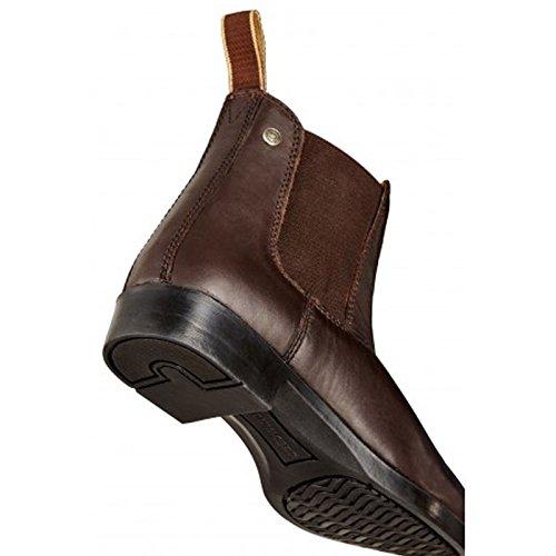 Vent du Sud Boots Chelsea Boots Classic Cuir de vachette Marron