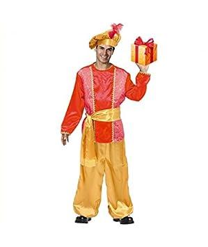 Partilandia Disfraz PAJE Rojo para Hombre Navidad (S ...