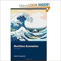 Book Maritime Economics 3rd (Third) Edition byStopford