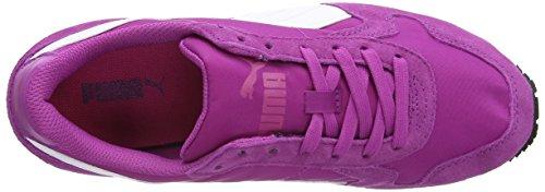 Puma Unisex-volwassenen St Runner Nl Low-top, Grau Violet (levendige Viola / Wit / Rode Biet Purple)