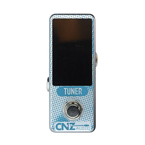 CNZ Audio Chormatic Tuner Guitar Effects Pedal with Large, Multi-Colored LED Display, True Bypass by CNZ Audio