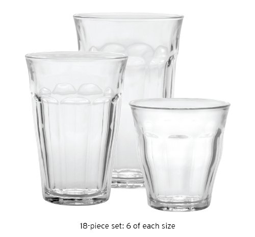 Duralex Picardie Glass Tumblers French Bistro 18Pc Set by Duralex (Image #3)