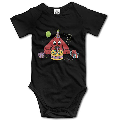 TCJX Baby Boys Girls Short Sleeve Clifford The Big Red Dog Funny Bobysuit -