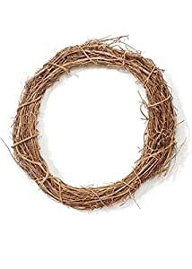 "Natural Grapevine Wreath - 18\"""