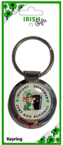 当社の Instant Instant Irishman Round Round Irishman Keyring B00831V7HS, 株式会社光商:de48e897 --- yelica.com