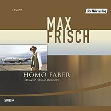 Homo Faber Hörbuch von Max Frisch Gesprochen von: Felix von Manteuffel