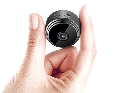 SPY 360 Full HD Mini Camera WiFi Magnetic Live Stream Night Vision IP Wireless 1080P Audio and Video Hidden Nanny Camera…