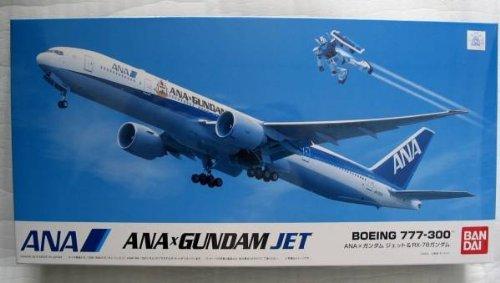 1/200 BOEING777-300 ガンダムジェット&RX-78-2 ガンダム「ANA×ガンダム SKYプロジェクト」搭乗者限定