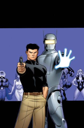 Agents of Atlas #5 McGuinness Variant Cover (Agents of Atlas) (Agents of Atlas)