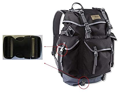 7cee114bf Ponini 1x 1 Black Replacement Clip Buckle to fit L.L.Bean Outdoor Backpacks