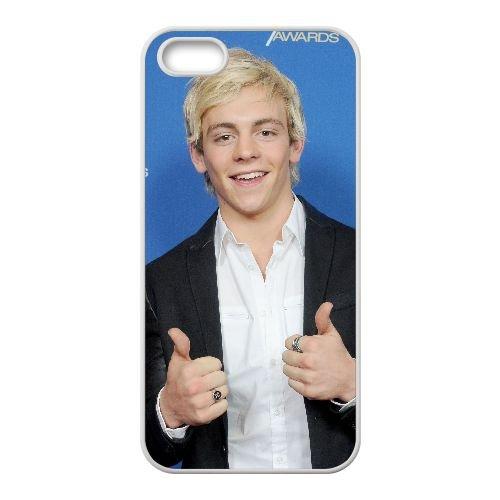 Q8E40 Ross Lynch P1R9JL coque iPhone 4 4s cellule de cas de téléphone couvercle coque blanche KQ6VSO1XM