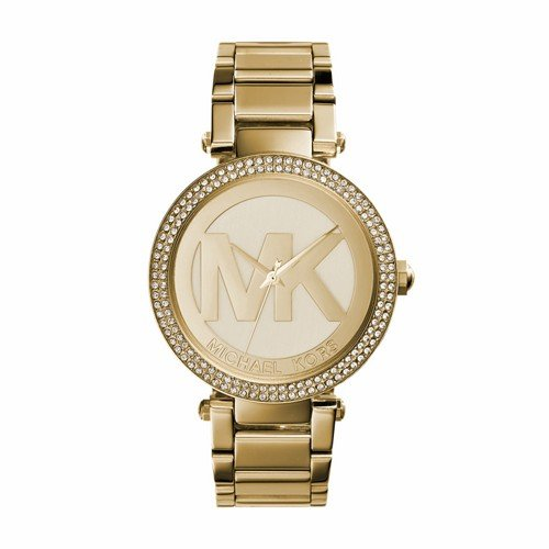 Michael Kors Women's Parker Gold-Tone Watch - Kors Ladies Michael