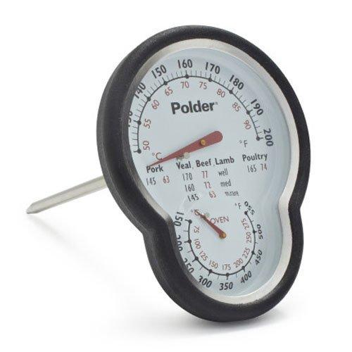 Polder Dual-Display Thermometer 12453SLT