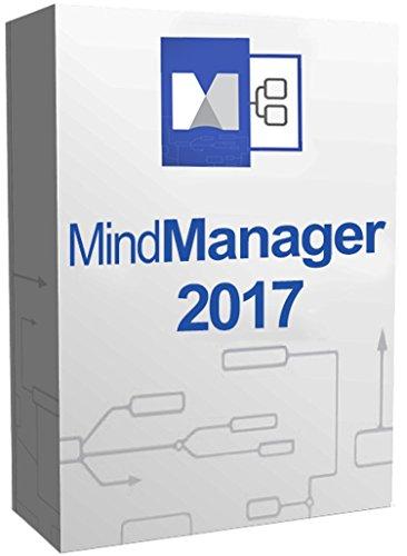 Mindjet MindManager 2017 Digital Software Download For Windows with Licence Key 2PC's [No CD No Postage]