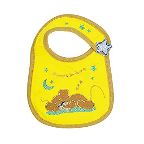 Macxy - 1pcs Baberos para bebés Bandana 100% algodón Babadores eructar la Saliva de Dibujos