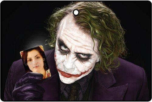 The Joker Your Photo Effect Car Air Freshener